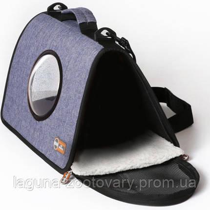 K&H Lookout сумка-переноска для собак и кошек , светло-синий , L , фото 2