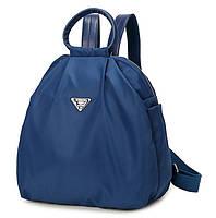 Рюкзак женский городской Winner. Сумка. Черного и синего цвета. Модные рюкзаки. Синий