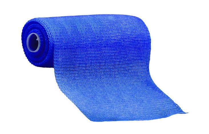 3М Scotchcast Жорсткий іммобілізаційний бинт (синтетичний гіпс)(Скотчкаст) 10 х 3,6 м синій, фото 2
