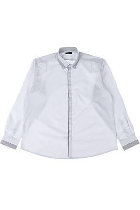 Рубашка мужская батал 50PD3355 (Светло-серый), фото 2