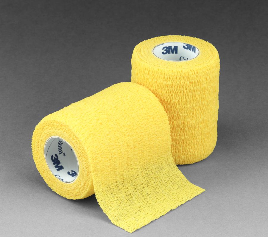 3М Scotchcast Жорсткий іммобілізаційний бинт (синтетичний гіпс)(Скотчкаст) 5 х 3,6 м жовтий