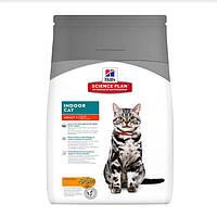 Hill's Science Plan Adult Indoor Cat корм для кошек с курицей 4 кг