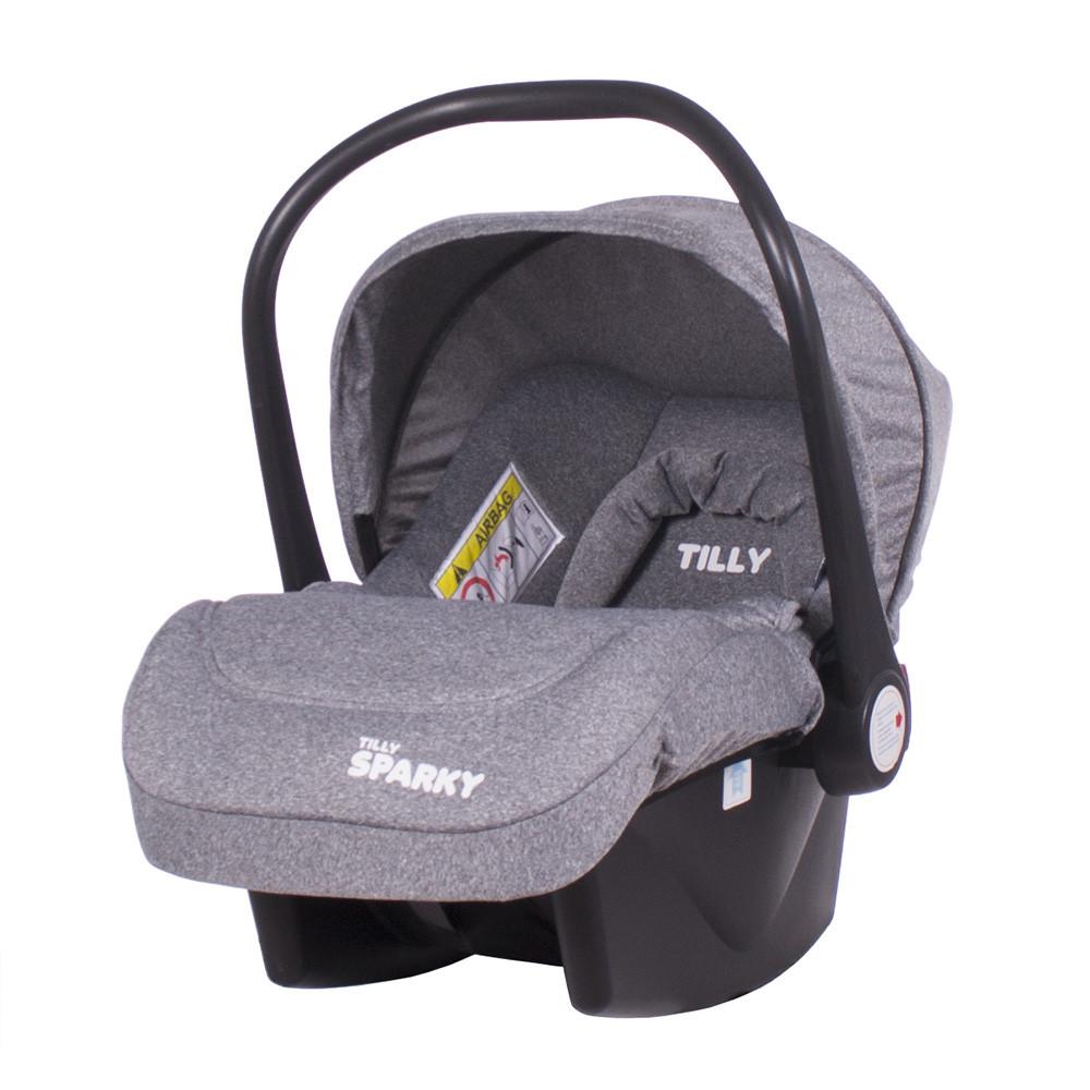 Автокресло детское от 0 до 13 кг TILLY Sparky T-511 Grey