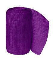 3М Scotchcast Жорсткий іммобілізаційний бинт (синтетичний гіпс)(Скотчкаст) 5 х 3,6 м фіолетовий, фото 2