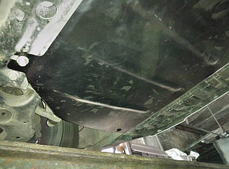 Защита радиатора, двигателя и КПП на Тойота РАВ 4 III (Toyota RAV4 III) 2005-2012 г (металлическая/3.5)