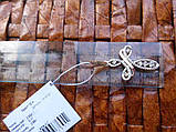 Срібний хрест з золотими пластинами і камінням, фото 4