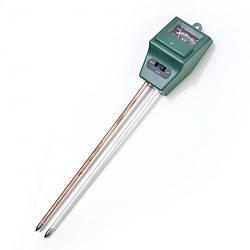 Вимірювач кислотності pH, вологості, освітленості грунту Kronos ЕТП-301 (3 в 1) (mdr_2327)