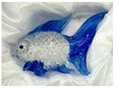 Фигурка из стекла Рыба