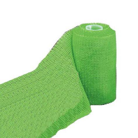 3М Scotchcast Жорсткий іммобілізаційний бинт (синтетичний гіпс)(Скотчкаст) 5,0 х 3,6 м зелений, фото 2