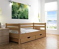 Ліжко дитяче з натурального дерева бук Woodluck