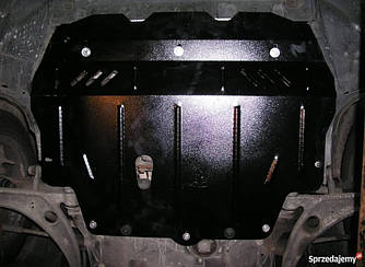Защита картера (двигателя) и Коробки передач на Фольксваген Нью Битл (Volkswagen New Beetle) 1998-2011  г