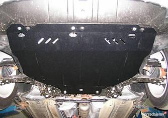 Защита двигателя на Фольксваген Пассат Б5 (Volkswagen Passat B5) 1996-2005 г (металлическая/2.3 и меньше)