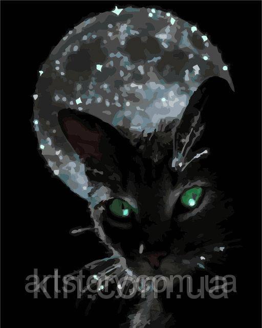 Картина по номерам ArtStory Ночная жизнь 40 х 50 см (арт. AS0277)