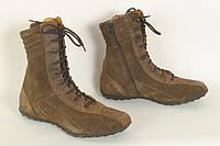 Ботинки женские демисезонные GEOX размер 39 натуральный замш