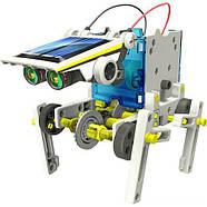 Конструктор на солнечных батареях CIC 21-615 Робот 14 в 1 Гарантия качества Быстрая доставка, фото 2