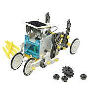 Конструктор на солнечных батареях CIC 21-615 Робот 14 в 1 Гарантия качества Быстрая доставка, фото 4