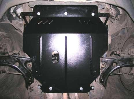 Защита картера (двигателя) и Коробки передач на Фольксваген Поло 4 (Volkswagen Polo IV) 2001-2009 г