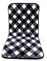 Накидка на автомобільне сидіння з овечої вовни, фото 1