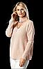 Женский вязаный свитер.( Длина- 68 см). S- L Размер.