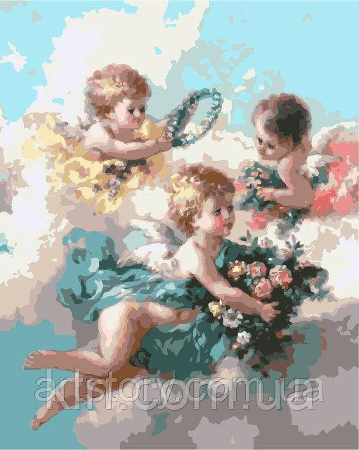 Картина по номерам ArtStory Ангелы 40 х 50 см (арт. AS0294)