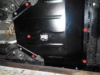Защита картера (двигателя) и Коробки передач на КИА Кларус (KIA Clarus) 1996-2001 г  2.5
