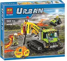 Конструктор Bela 10639 City Вездеход исследователей вулканов (Аналог Lego City 60122), 342 дет.