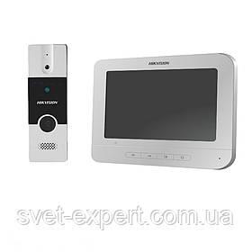 Комплект домофон (DS-KH2220) + панель (DS-KB2411-IM)