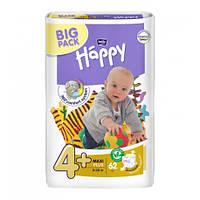 Подгузники Bella Baby HAPPY MAXI PLUS (4+) 62шт