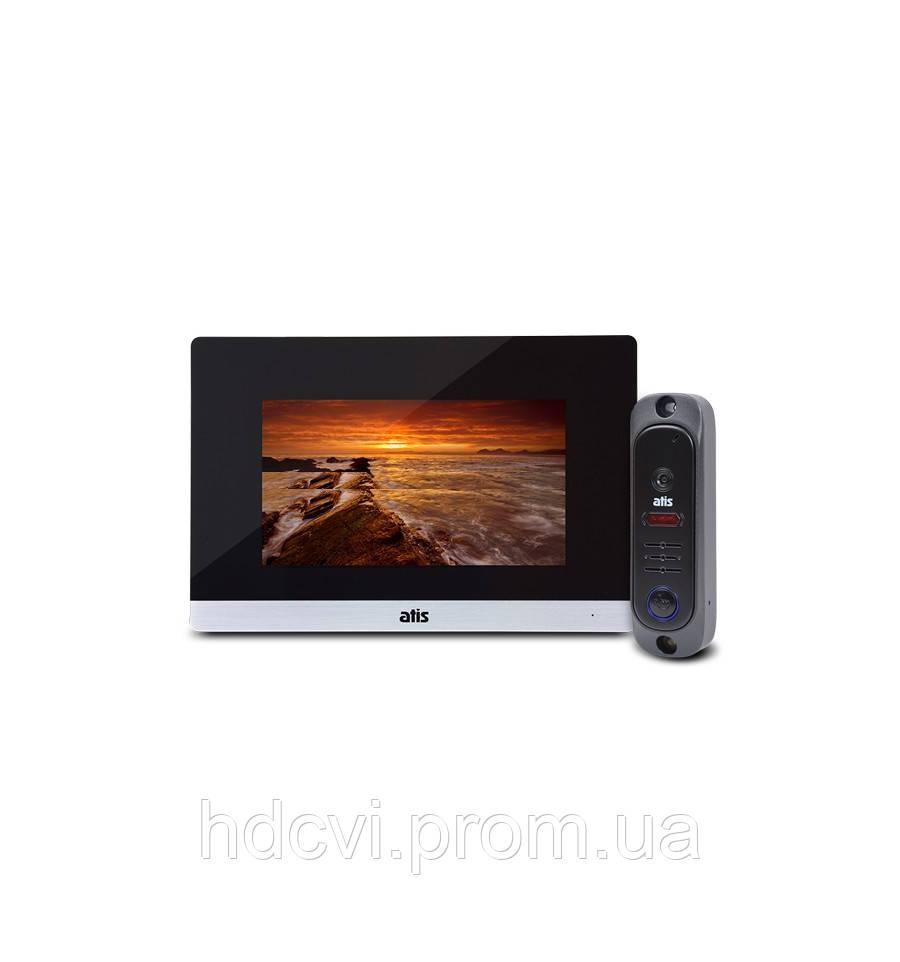 Комплект видеодомофона ATIS AD-750M S-Black + AT-380HR Black