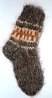 Гуцульские носки из овечьей шерсти