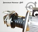 Дисковый насос ДНТ-М 110 10-6 ТУ нержавеющая сталь, фото 2
