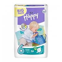Подгузники Bella Baby HAPPY Junior Extra (6) 54шт