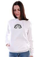Ніжна жіноча кофта білого кольору ЛОТОС, фото 1