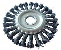 Щетка дисковая Werk - 125 х 22.2 мм плетеная проволока (WE107425