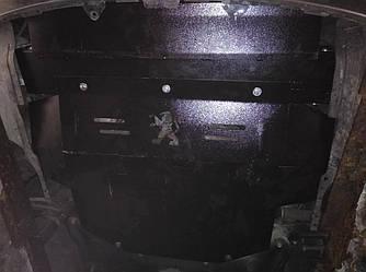 Защита картера (двигателя) и Коробки передач на Пежо 307 (Peugeot 307) 2001-2008 г  2.5