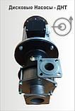 Дисковый насос ДНТ-М 140 20-6 ТУ нержавеющая сталь, фото 3