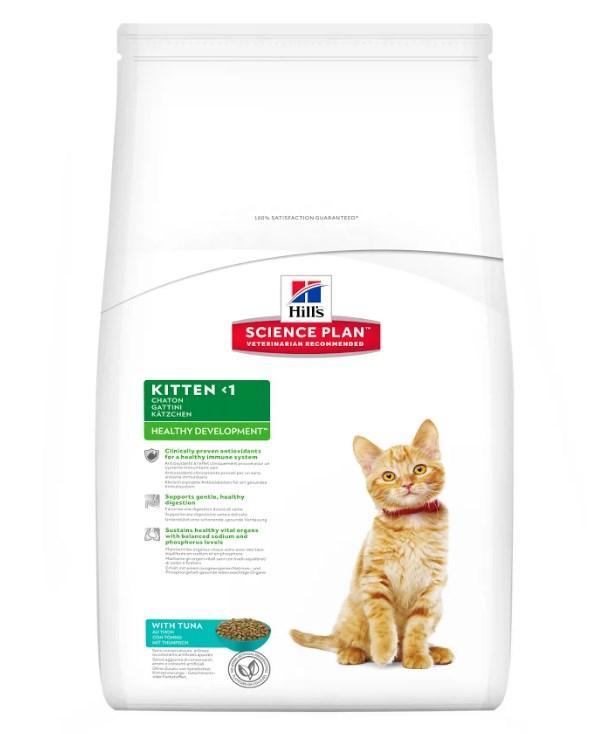 Hill's Science Plan Kitten Healthy Development корм для котят с тунцом 2 кг