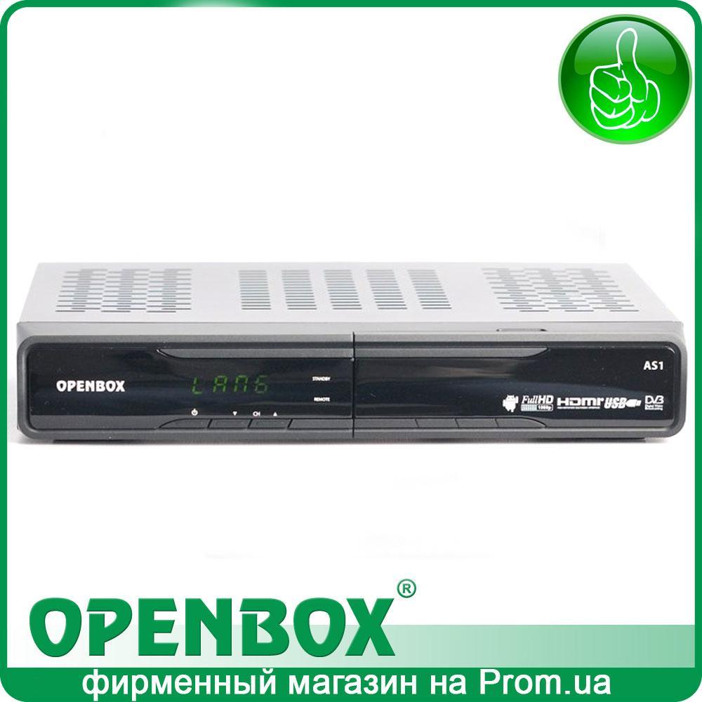 Спутниковый Android HDTV ресивер Openbox AS1