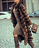 Шуба из  меха  соболя, производство Украина