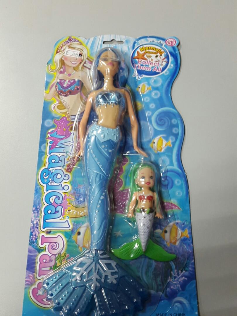 Набор две куколки русалки
