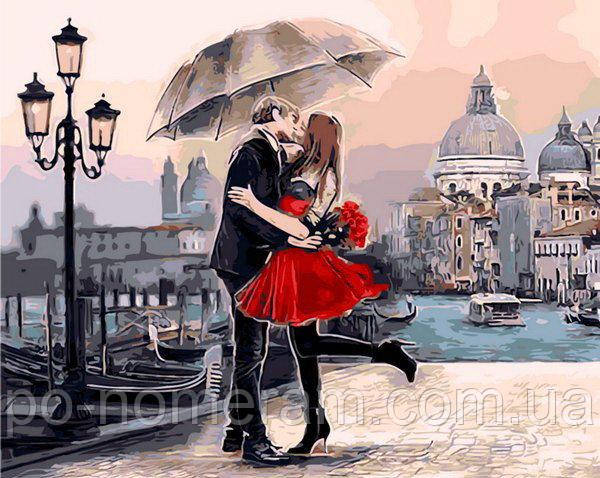 раскраска по номерам Венеция