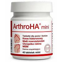 Dolfos ArthroHA Mini 40 табл. - АртроГК Міні - добавка для суглобів дрібних порід собак і кішок