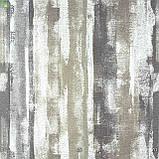 Декоративная ткань с размытыми бежевыми и серыми полосами в стиле лофт Испания, фото 2