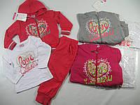 Трикотажный костюм для девочек, размеры 68-98, BST, арт. S 2318
