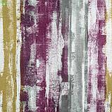 Декоративная ткань с размытыми фиолетовыми и оранжевыми полосами Испания, фото 2