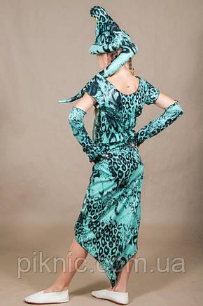 Детский костюм Змея Кобра для девочки 5,6,7,8,9,10 лет. карнавальный костюм для детей 342, фото 2