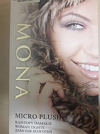 Колготки Mona micro plush 200 den на флисе