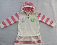 Туніка в'язана з капюшоном ТМ Baby Brok/ Польща (рост. 068-104) 13_061M7-L