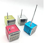 Портативная колонка Digital TD-V26 c Fm-радио/micro SD/TF/ USB