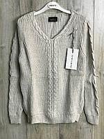 Женский вязаный свитер . ( Длина- 64 см). S- L Размер., фото 1